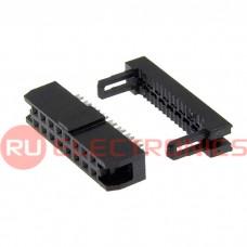 Разъём IDC RUICHI IDC2-16F, 2.00 мм, 16 контактов