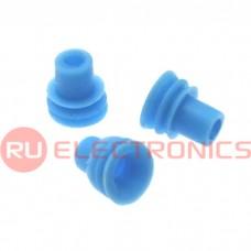 Проволочный уплотнитель RUICHI, 2.5х6 мм, синий