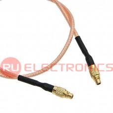 Высокочастотный разъём RUICHI MMCX-P/MMCX-P, RG178, 20 см