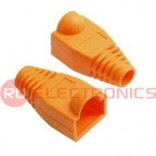 Изолирующие колпачки для RJ45 RUICHI, оранжевый