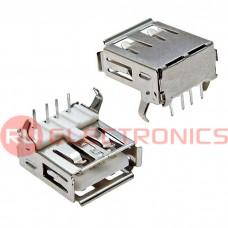 Разъем USB KLS USBA-1F, 4 контакта