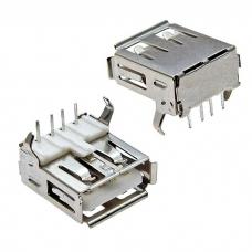 Разъем USB RUICHI USBA-1J, 4 контакта