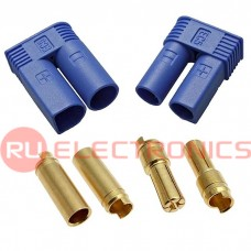 Разъем для RC моделей RUICHI EC5 M+F/SET, защита от переполюсовки