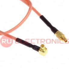 Высокочастотный разъём RUICHI MMCX-P/MMCX-RP, RG178, 20 см