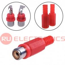 Разъём RCA SZC RP-406, красный