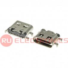 Разъем USB RUICHI USB3.1 TYPE-C 16PF-020, 16 контактов
