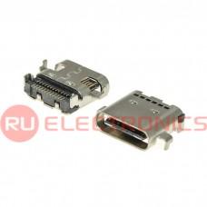 Разъем USB RUICHI USB3.1 TYPE-C 24PF-016, 24 контакта