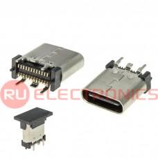 Разъем USB RUICHI USB3.1 TYPE-C 24PF-009, 24 контакта