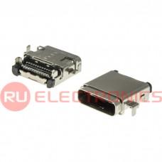 Разъем USB RUICHI USB3.1 TYPE-C 24PF-004, 24 контакта