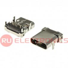 Разъем USB RUICHI USB3.1 TYPE-C 24PF-002, 24 контакта