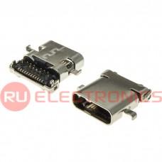 Разъем USB RUICHI USB3.1 TYPE-C 24PF-006, 24 контакта