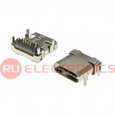 Разъем USB RUICHI USB3.1 TYPE-C 24PF-003, 24 контакта