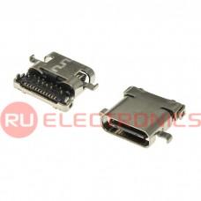 Разъем USB RUICHI USB3.1 TYPE-C 24PF-008, 24 контакта