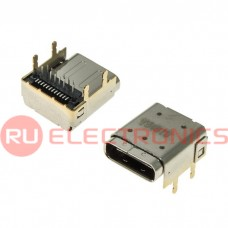 Разъем USB RUICHI USB3.1 TYPE-C 24PF-038, 24 контакта