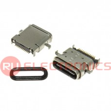 Разъем USB RUICHI USB3.1 TYPE-C 24PF-036, 24 контакта