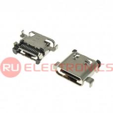 Разъем USB RUICHI USB3.1 TYPE-C 24PF-029, 24 контакта