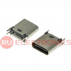 Разъем USB RUICHI USB3.1 TYPE-C 24PF-012, 24 контакта