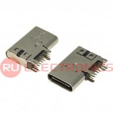 Разъем USB RUICHI USB3.1 TYPE-C 14PF-033, 14 контактов