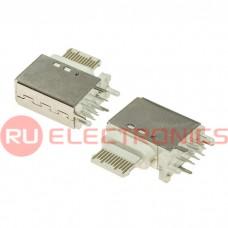 Разъем USB RUICHI USB3.1 TYPE-C 24PF-017, 24 контакта