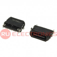 Разъем USB RUICHI USB3.1 TYPE-C 24PF-068, 24 контакта
