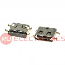 Разъем USB RUICHI USB3.1 TYPE-C 12PF-075, 12 контактов