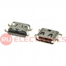 Разъем USB RUICHI USB3.1 TYPE-C 16PF-076, 16 контактов