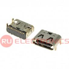 Разъем USB RUICHI USB3.1 TYPE-C 10PF-074, 10 контактов