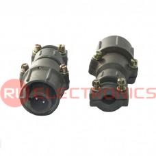 Разъем SZC ШР16П2НГ5 вилка (SZC), 2 контакта