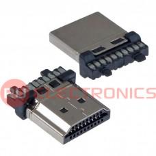 Разьем HDMI/DVI RUICHI HDMI AM - Welding, 20 контактов
