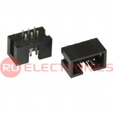 Разъём IDC RUICHI BH-06 (IDC-06MS), 6 контактов