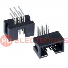 Разъём IDC RUICHI BH-06R (IDC-06MR), 6 контактов