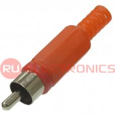 Разъём RCA RUICHI 7-0206/RP-405, красный