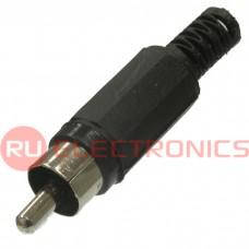Разъём RCA RUICHI 7-0206/RP-405, чёрный