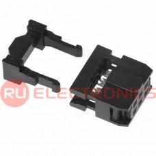 Разъём IDC RUICHI IDC-06F, 6 контактов