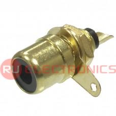 Разъём RCA RUICHI 7-0234B GOLD/RS-115G, 50 В