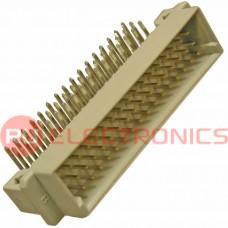 Разъём DIN RUICHI DIN41612 3*16 48 угл. вилка, 48 контактов