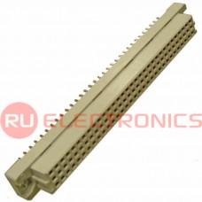 Разъём DIN RUICHI DIN41612 3*32 64 розетка, 64 контакта