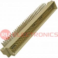 Разъём DIN RUICHI DIN41612 3*32 96 угл. вилка, 96 контактов