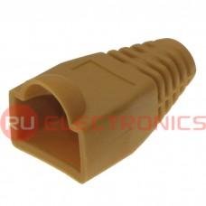 Изолирующие колпачки для RJ45 RUICHI, коричневый