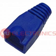 Изолирующие колпачки для RJ45 RUICHI, темно-синий