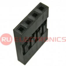 Гнездо для плат 2.54 мм RUICHI BLS-4, клеммный, 4 контакта