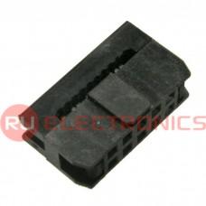 Разъём IDC RUICHI IDC2-10F, 2.00 мм, 10 контактов