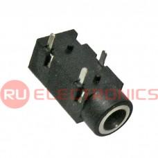Разъем аудио RUICHI TKX3-3.5-30 PCB jack, гнездо на плату