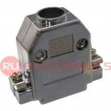 Корпус к разъёму D-SUB RUICHI PLASTIC CASE (DN-15C), пластик