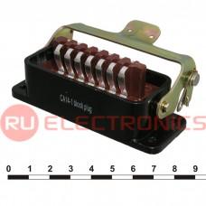 Разъём РША RUICHI РШАВПБ14-0 (аналог), 14 контактов