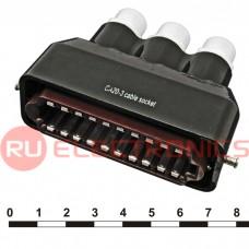 Разъём РША RUICHI РШАГКП20-3 (аналог), 20 контактов