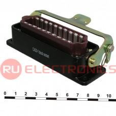 Разъём РША RUICHI РШАГПБ20-0 (аналог), 20 контактов