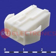 Разъём питания низковольтный RUICHI MFC-2x3M, 4.5 мм с зажимом