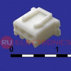 Разъём питания низковольтный RUICHI H-03 наклон 2.54 мм+клеммный, 3 контакта