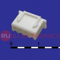 Разъём питания низковольтный RUICHI H-04 наклон 2.54 мм, клеммный, 4 контакта